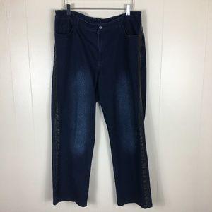 Catherines dark wash Women's Jeans Size 18W